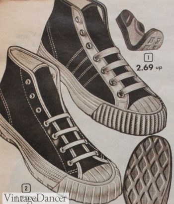 1953 Converse style sport high tops