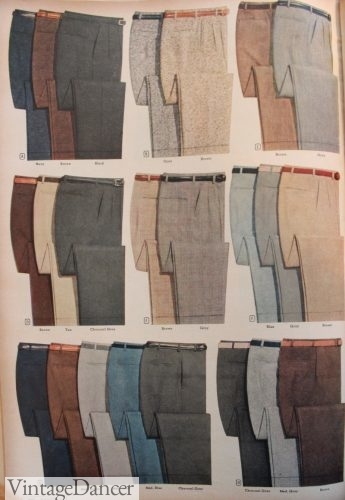 1955 Men's Pants- a multitude of colors