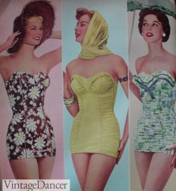 1956 swimsuits