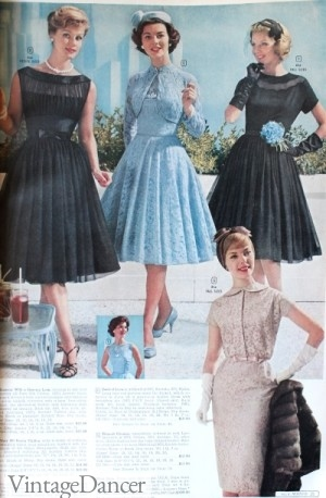 1960 Wards prom cocktail dress