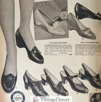 1960 wedges and peep toe sandals