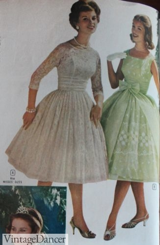 1960s Evening Dresses, Bridesmaids, Mothers