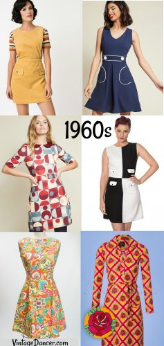 f761095b8f 60s mini dresses, 1960s mod dresses at VintageDancer