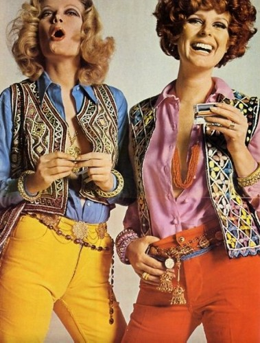 1960s fashion hippe clothes