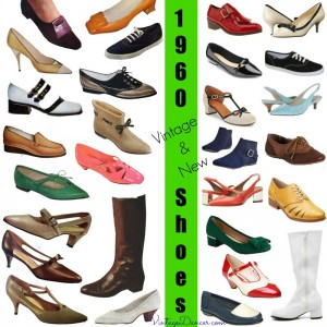 1960s Shoes 8 Popular Shoe Styles