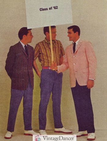 1960s mens ivy style boating blazers