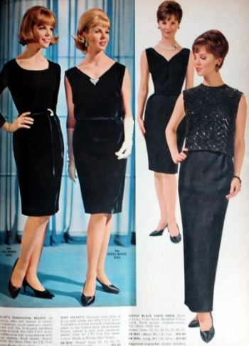 1964 black formal party dresses d3c269265