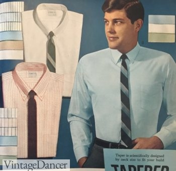 1964 basic skinny ties in solid and stripes