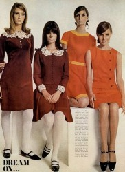 1960s Dresses – A Rainbow of 50 Dresses (Pictures)