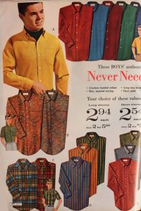 1967 hippie men's shirts