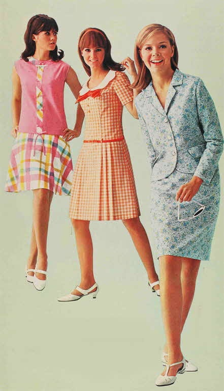 1960s fashion clothes