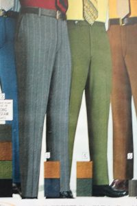 1970 men's dress pants