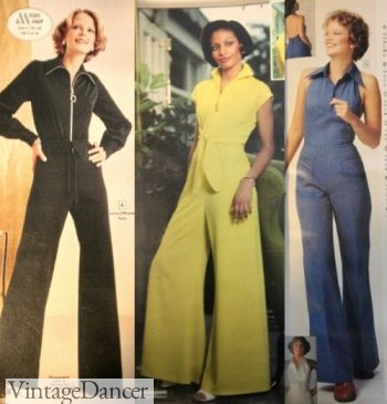 1970s Jumpsuits- great for Disco!