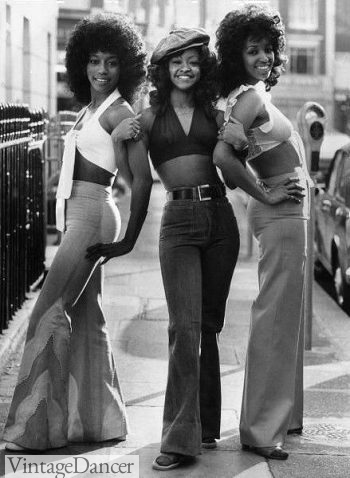 1970s street fashion, Disco style