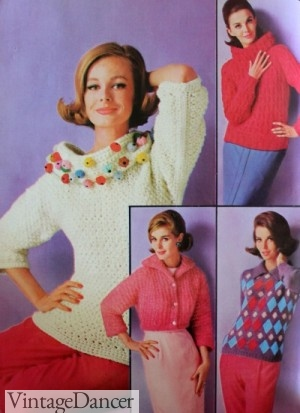 1960s Chunky Knit Sweaters