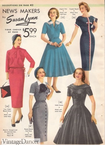 1950 clothes for women