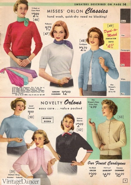 1957 Sweaters