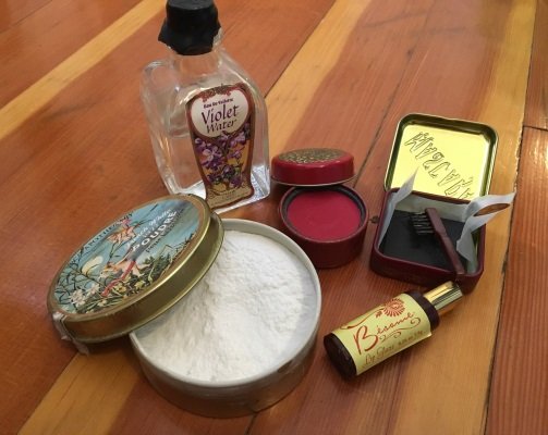 My LBCC and Besame reproduction Victorian makeup