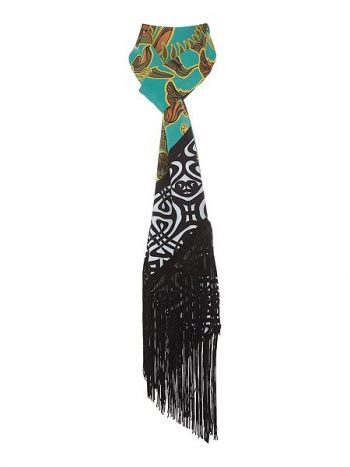 House of Fraser are currently stocking Biba designs, this scarf is a perfect 1970s retro style.