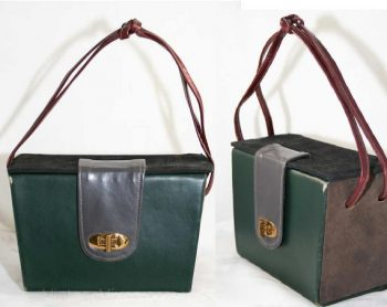 1930s Leather Box Bags On Etsy