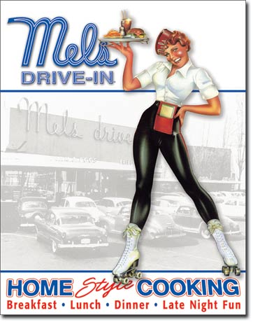 1950s Car Hop Costume, Diner Girl, Waitress Uniforms