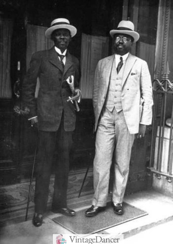 Early 1920s well dressed black men