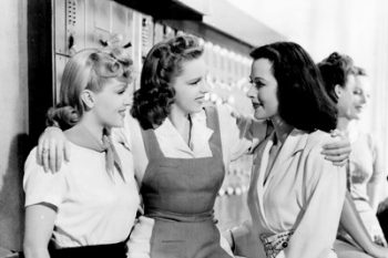 Lana Turner, Judy Garland, and Hedy Lamarr, 1941