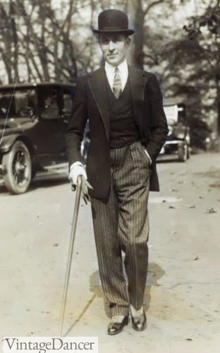 Jean Patou, 1924, morning suit mens fashion 1920s