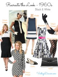60s Mod Clothing Outfit Ideas