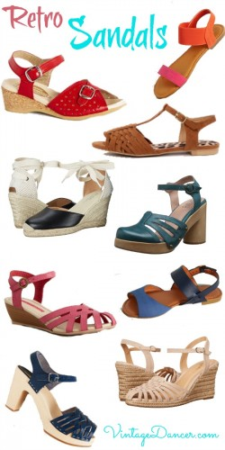 Retro Sandals, vintage style sandals for summer. Shop at Sahafah24.info
