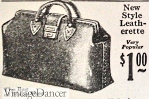 1920s luggage bag