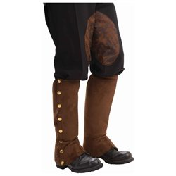 Steampunk spats boot covers