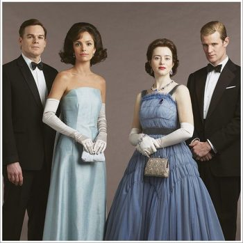 The Crown, season 2, 1950s formal tux's on the men