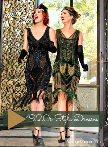 Harlem Nights Themed Dresses