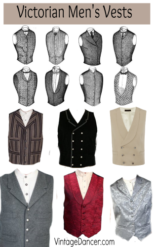 Victorian men's vests and waistcoats. All styles, all budgets. Shop at Sahafah24.info/Victorian