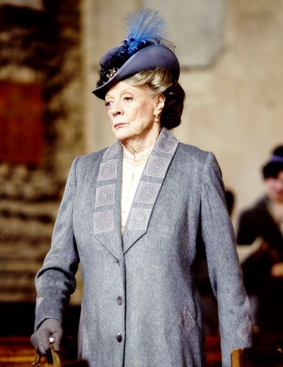 Downton AbbeyThe Dowager in a L ong Jacket and older style hat