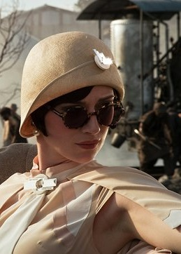 Great Gatsby movie-tortoiseshell round 1920s sunglasses