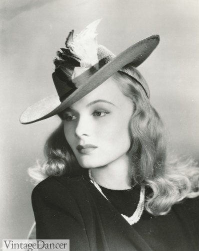 1940s hats Veronica Lake